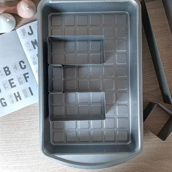 Kuchenform für Nummern und Buchstaben von Pampered Chef®