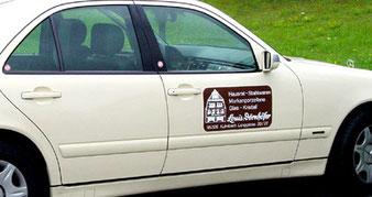 Fahrzeug Magnetfolie klein