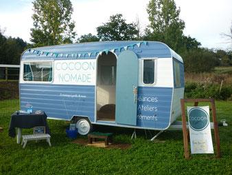 Kokono caravane massage assis ce qui nous lie forum de l'habitat léger et du voyager autrement ille et vilaine
