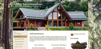 Firma Löffler Naturstammhaus