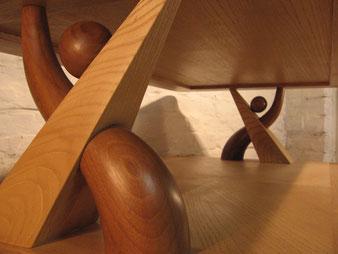 Meuble bois, détail assemblage. CCL ébéniste