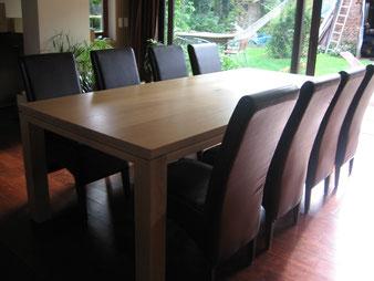 Meuble bois, table en chêne massif. CCL ébéniste