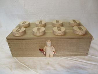 Coffre personnalisé en bois