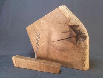Tire-bouchon en bois de chêne.CCL ébéniste