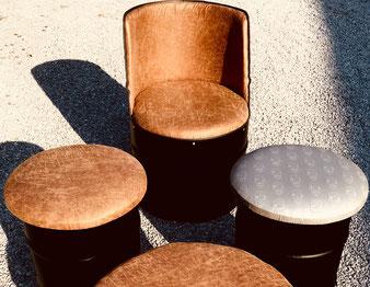 Tonnen Möbel Sessel