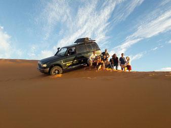 Dunes - RAID MAROC