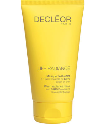 masque flash éclat Decléor life radiance