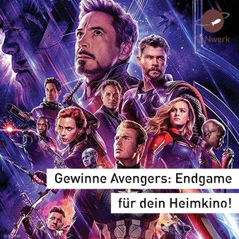 avengers endgame dvd Blu-ray Verlosung Gewinnspiel FANwerk marvel
