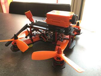 """Premier drone """"fait maison"""": que d'erreurs!"""