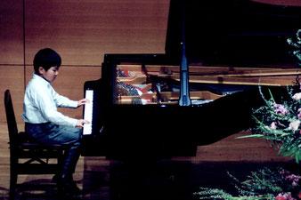 ピアノ教室発表会の森田槙