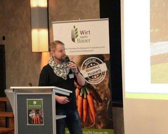 """GastroRegioTag von """"Wirt sucht Bauer"""" am 27.11.17 in Bayreuth"""