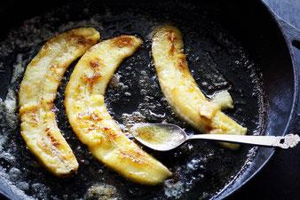 gebratene Banane