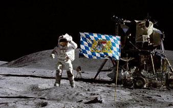 Der 1. Mensch auf´m Mond. Was viele no net gwußt ham?