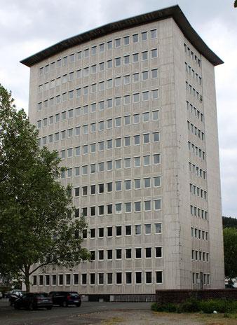 Das Nordstern-Hochhaus am 4. Juni 2014 (Aufnahme: Dr. Richard Vogel, Berlin)