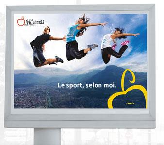 création d'affiche à Grenoble