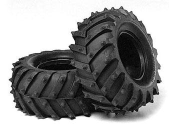 grobstollige Modell-Offroad-Reifen, Monsterreifen im Maßstab 1:10