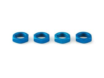 blaue Modell-Radmuttern von Carson für Großmodelle