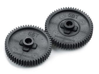TAMIYA TT-01/ TT-01E Speedgetriebe, Hauptzahnräder, Tuningteile
