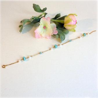 Bracelet perles de culture