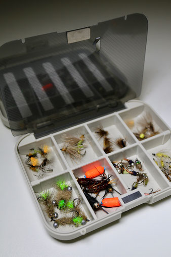 A brief review of the C&F FSS-2 fly box. Danica Dudes fly fishing blog.