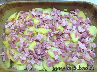 Blumenkohl Kartoffel Gratin oder Auflauf aus der Ofenhexe im Pampered Chef Onlineshop