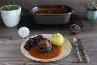 Klassische Rinderrouladen im Ofenmeister aus dem Pampered Chef Onlineshop