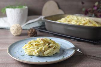 Spaghetti Carbonara in der Ofenhexe von Pampered Chef