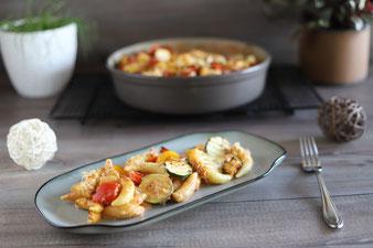Schupfnudel-Gemüse-Topf aus der Stoneware rund im Pampered Chef Onlineshop