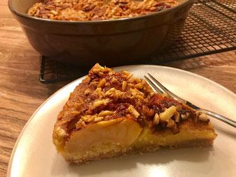 Apfel Zimt Kuchen aus der Stoneware rund im Pampered Chef Onlineshop bestellen