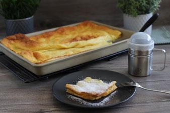 Käsekuchen mit Streuseln auf dem Ofenzauberer von Pampered Chef aus dem Onlineshop bestellen und kaufen