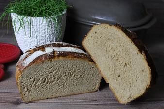 Holzfällerkruste, Bauernbrot, Brot aus dem Zaubermeister oder Ofenmeister aus dem Pampered Chef Onlineshop