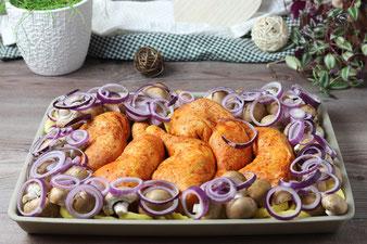 Kartoffeln und Gemüse im Ofenzauberer
