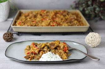 Kroatisches Reisfleisch im Ofenzauberer von Pampered Chef aus dem Onlineshop bestellen