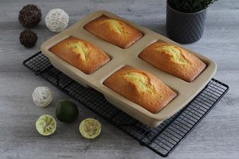 Mini Limettenkuchen aus der Mini Kastenform, ehem. Zauberkästchen mit Microplane Zester Reibe online im Pampered Chef Onlineshop bestellen