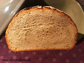 Knusperkruste Mischbrot Brot aus dem Ofenmeister oder Zaubermeister von Pampered Chef