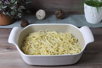Spaghetti im großen Bäker von Pampered Chef