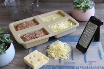 Hackbraten mit Kartoffelgratin aus dem Zauberkästchen mit kleiner Hobel und Microplane Reibe aus dem Pampered Chef Onlineshop bestellen