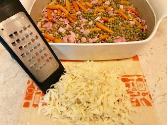 Nudel-Schinken-Gratin aus dem Bäker, Ofenhexe oder Ofenmeister aus dem Pampered Chef Onlineshop kaufen