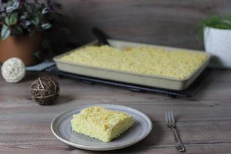 Streuselkuchen für Eilige im großen Ofenzauberer James von Pampered Chef