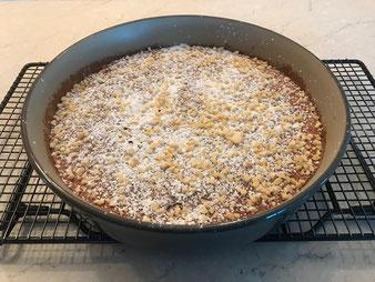 Mallorquinischer Mandelkuchen in der Stoneware rund aus dem Pampered Chef Onlineshop bestellen