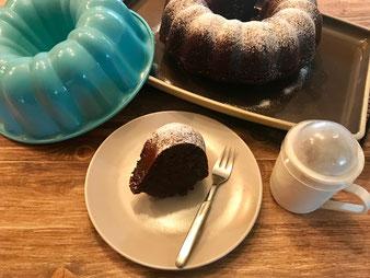 Schokokuchen Rahmkuchen Gugelhupf aus der Pampered Chef Kranzform online kaufen