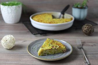 Kartoffeln und Zwiebeln als Gratin aus der runden Ofenhexe im Pampered Chef Onlineshop bestellen