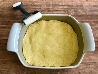 Nuss Streuselkuchen Hefekuchen im großen Bäker aus dem Pampered Chef Onlineshop bestellen
