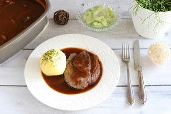 Sauerbraten oder Rinderbraten im Zaubermeister oder Ofenmeister von Pampered Chef online bestellen