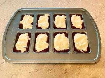 Schoko Käse Küchlein Mini Chocolate Cheesecakes aus der Mini Kuchen Form im Pampered Chef Onlineshop bestellen