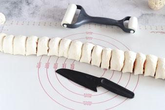 Pizzaschnecken oder Rosenpizza Fingerfood auf der White Lady im Pampered Chef Onlineshop kaufen