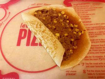 Herzhaft mit Hackfleisch gefüllte Pfannkuchen im großen Bäker aus dem Pampered Chef Onlineshop bestellen
