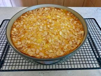 Apfelkuchen mit Vanilleguss aus der Stoneware rund vom Pampered Chef Onlineshop bestellen