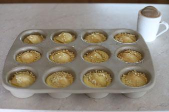 Apfelmuffins aus dem 12-er Snack oder Muffinform im Pampered Chef Onlineshop bestellen