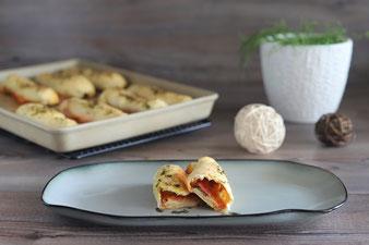 Pizza Sticks - Mini Calzone auf dem Ofenzauberer vom Pampered Chef Onlineshop bestellen